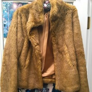 Teddy Bear Jacket Size Small